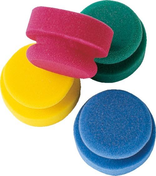 Puck SET 4 Farben (rot, blau, grün, gelb)